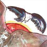 illustration Le voyage de l'aigle